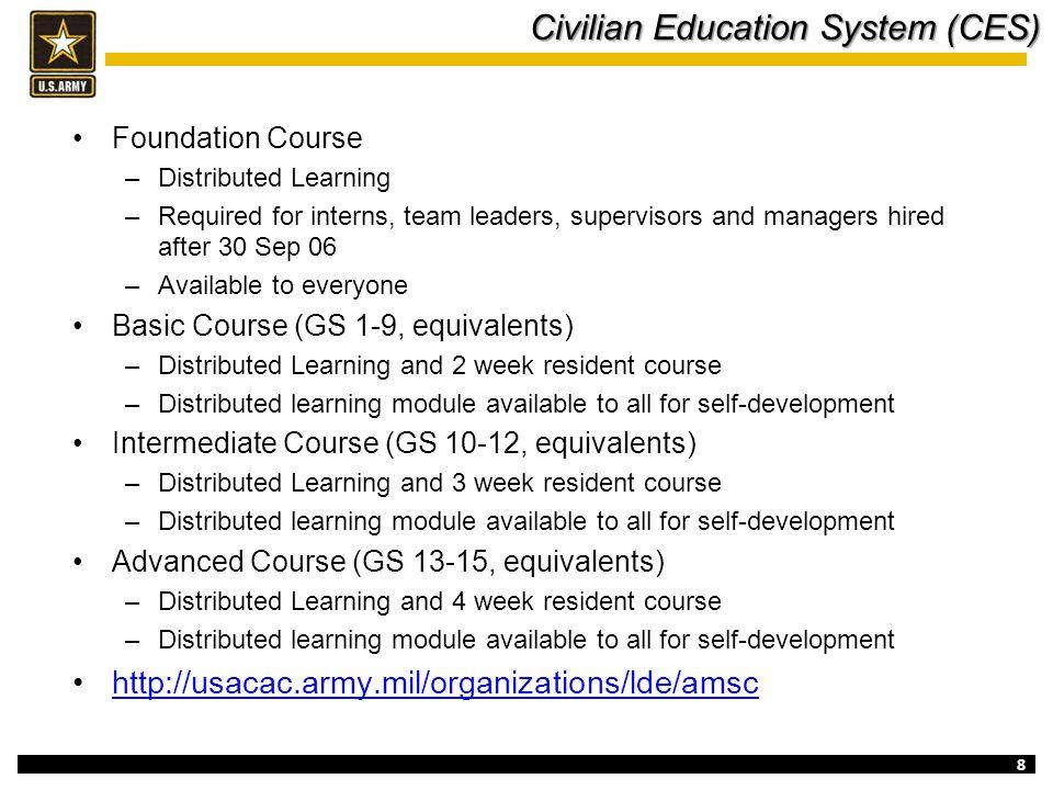 Civilian Education System (CES)