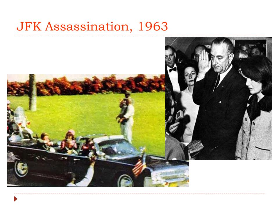 JFK Assassination, 1963