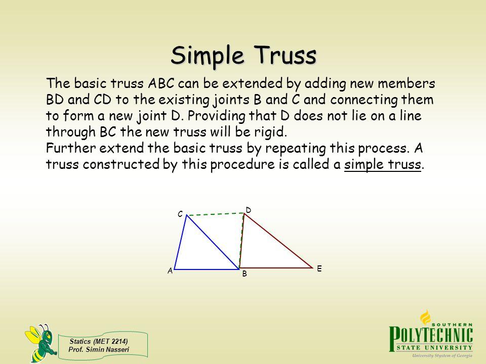 Simple Truss