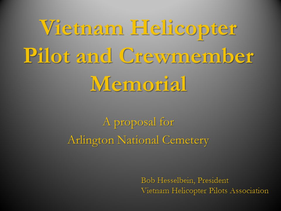 Vietnam Helicopter Pilot and Crewmember Memorial