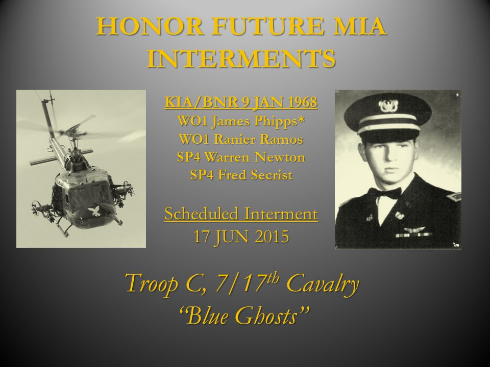 HONOR FUTURE MIA INTERMENTS