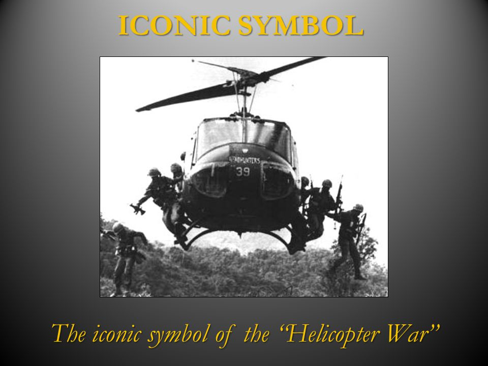 The iconic symbol of the Helicopter War