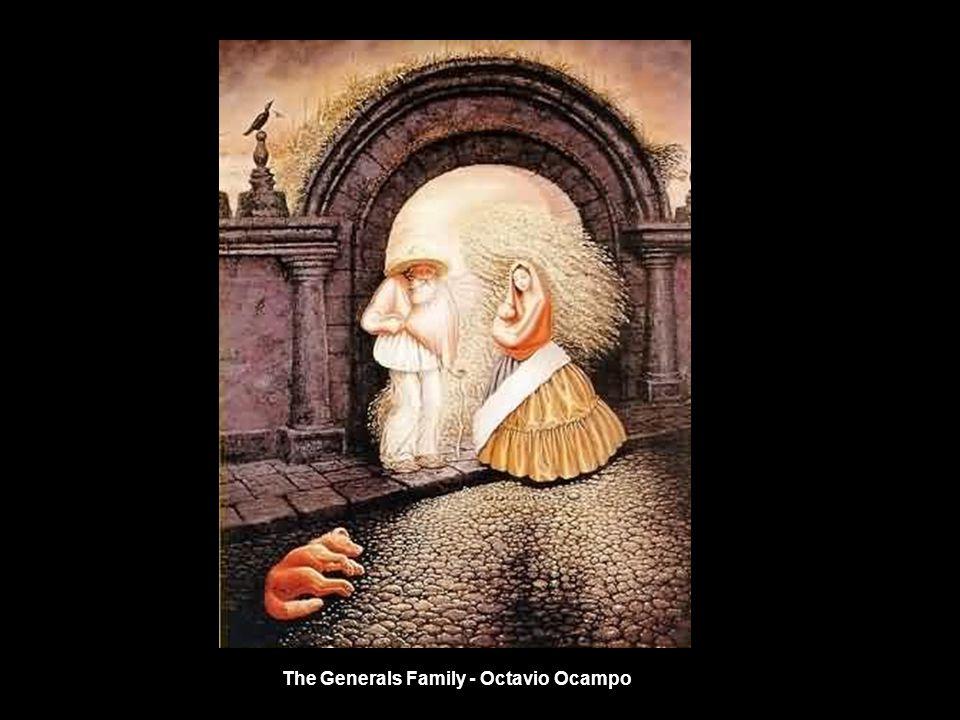 The Generals Family - Octavio Ocampo
