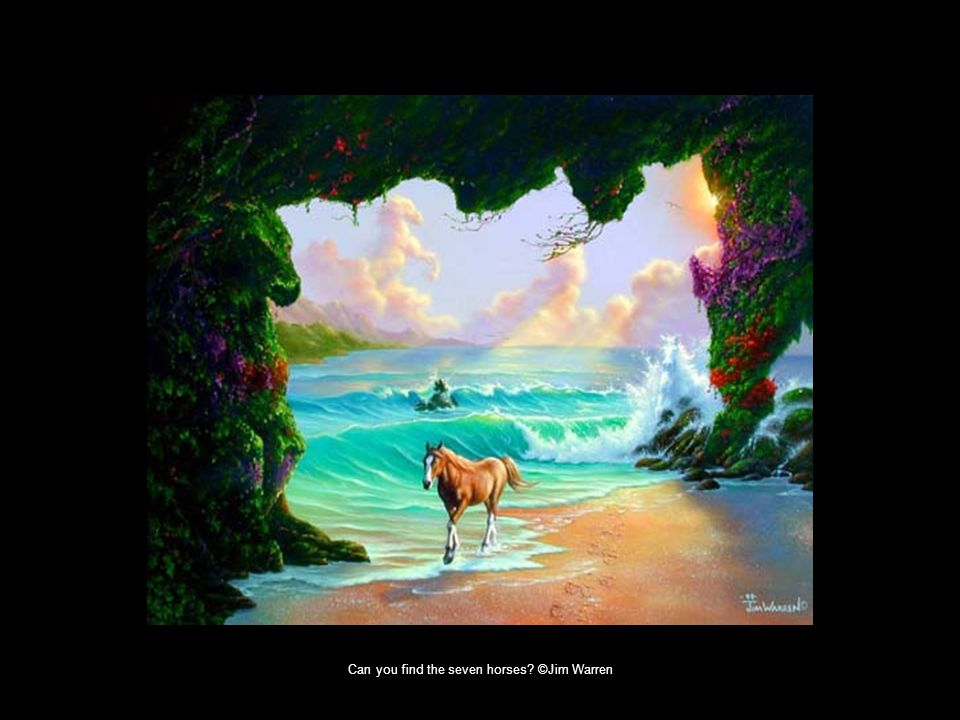 Can you find the seven horses ©Jim Warren