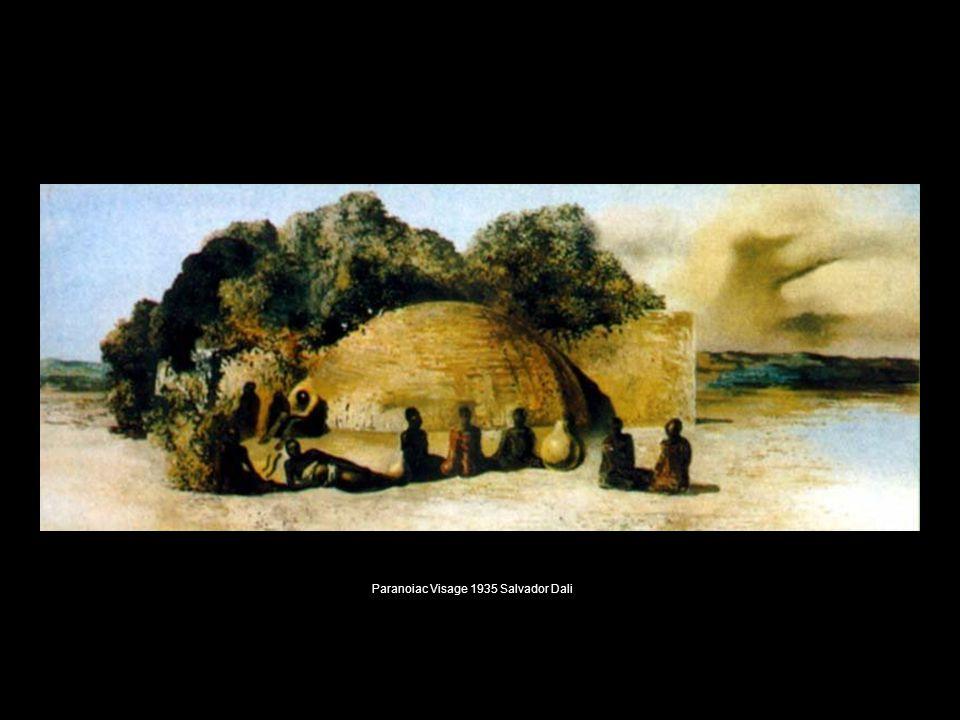 Paranoiac Visage 1935 Salvador Dali