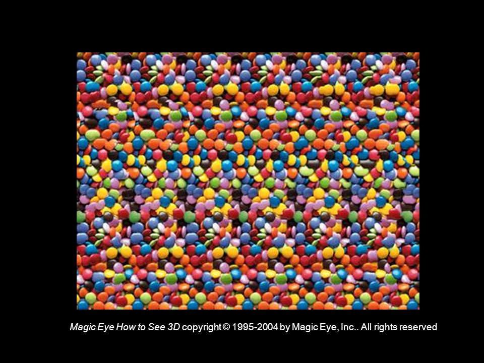 Magic Eye How to See 3D copyright © 1995-2004 by Magic Eye, Inc