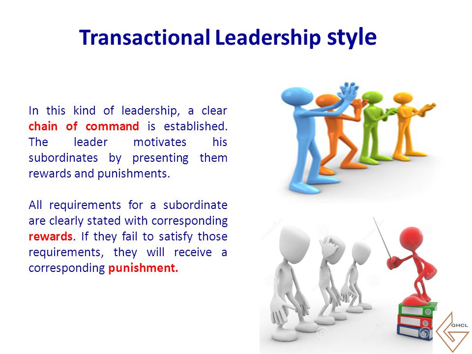 Transactional Leadership style