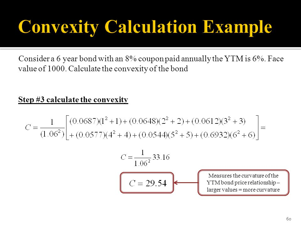 convexity and duration relationship test