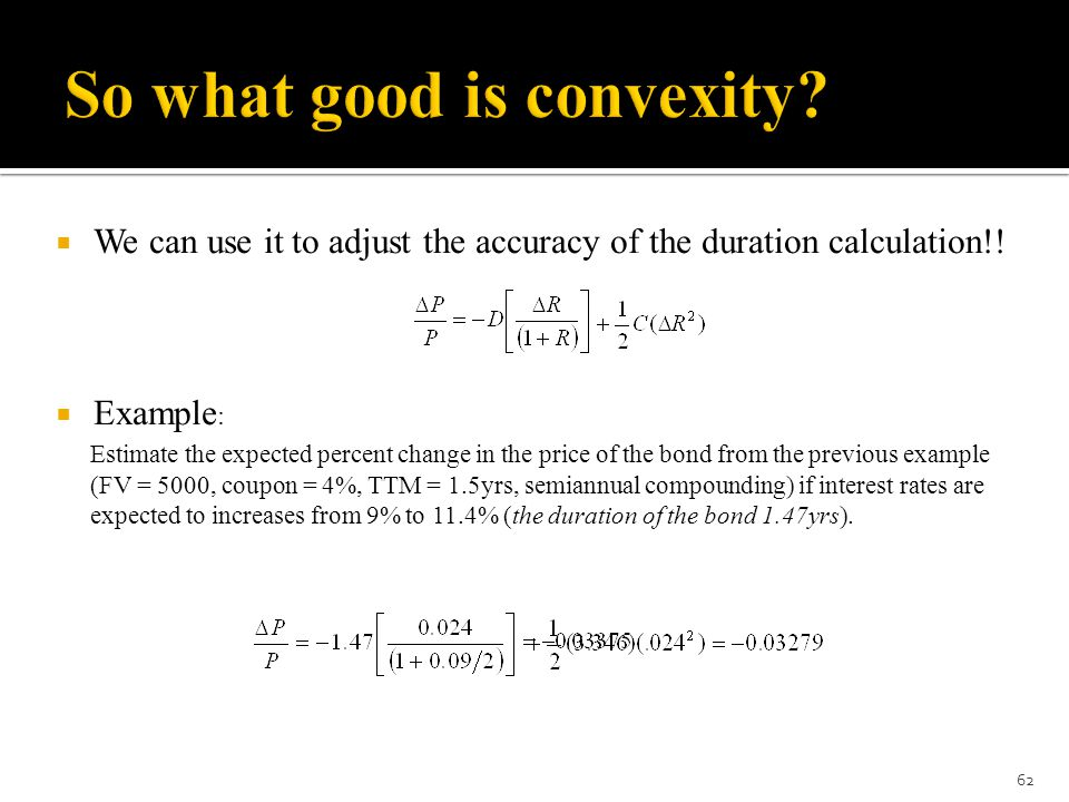 So what good is convexity