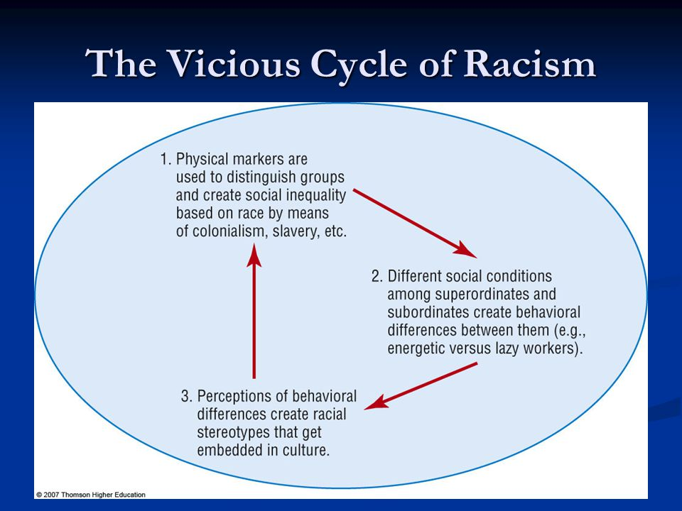 The Vicious Cycle of Racism
