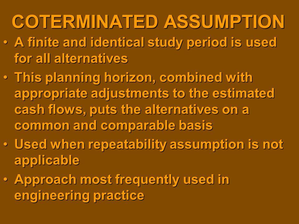 COTERMINATED ASSUMPTION