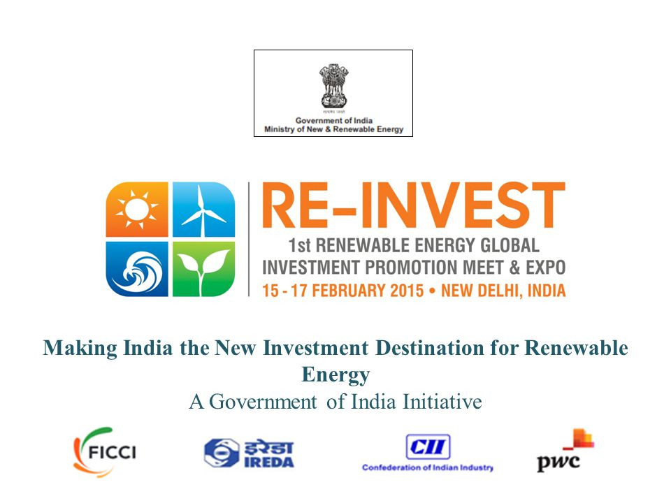 Making India the New Investment Destination for Renewable Energy