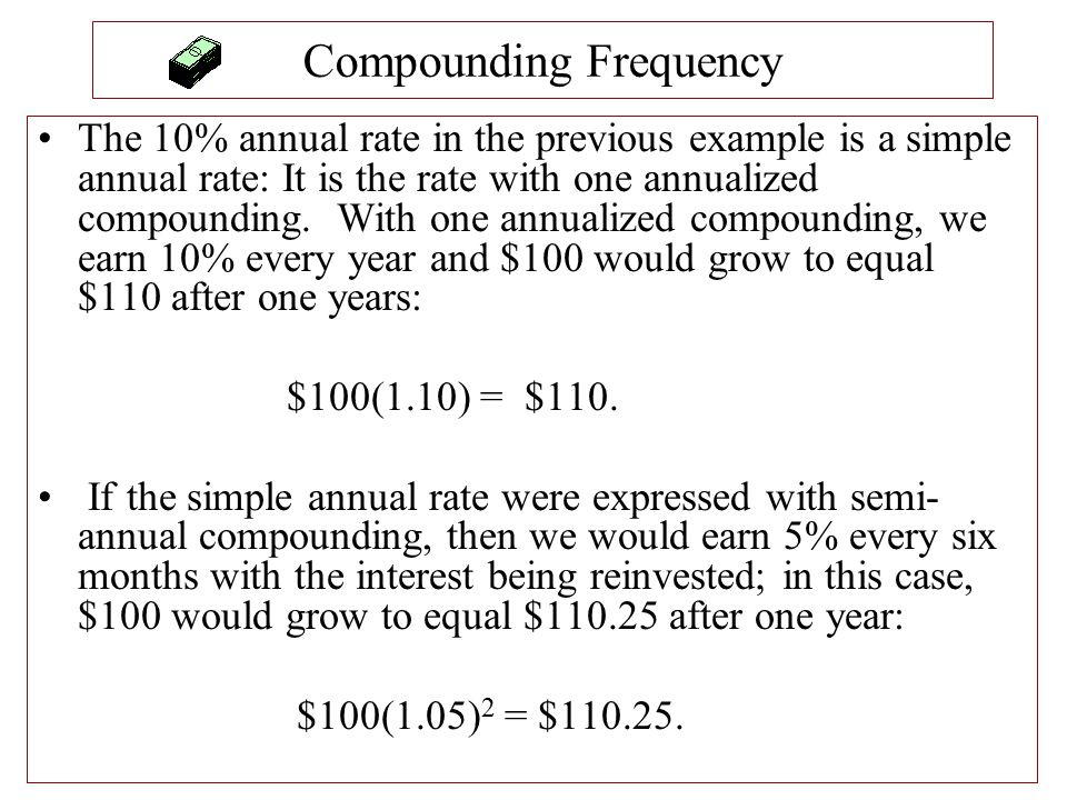 Compounding Frequency