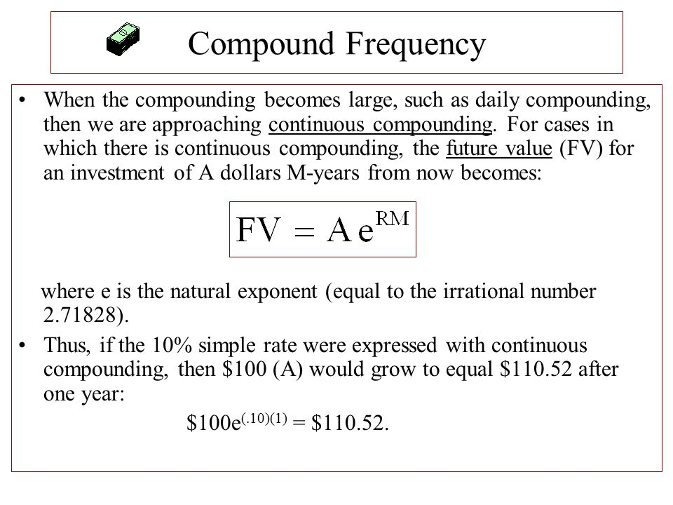Compound Frequency