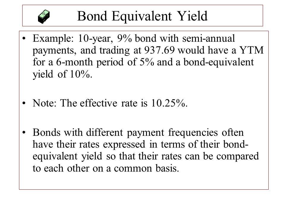 Bond Equivalent Yield