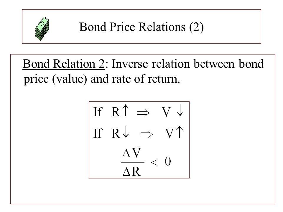 Bond Price Relations (2)