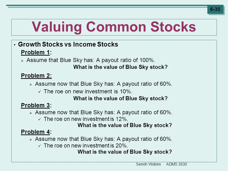 What is the value of Blue Sky stock