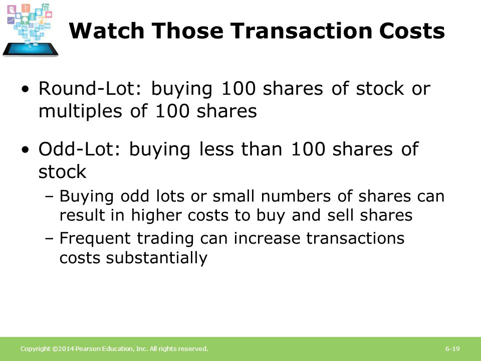 Watch Those Transaction Costs