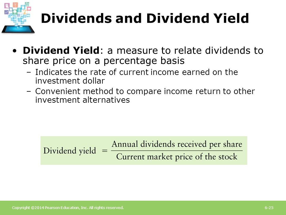 Dividends and Dividend Yield