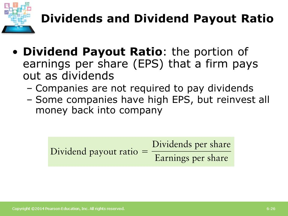 Dividends and Dividend Payout Ratio