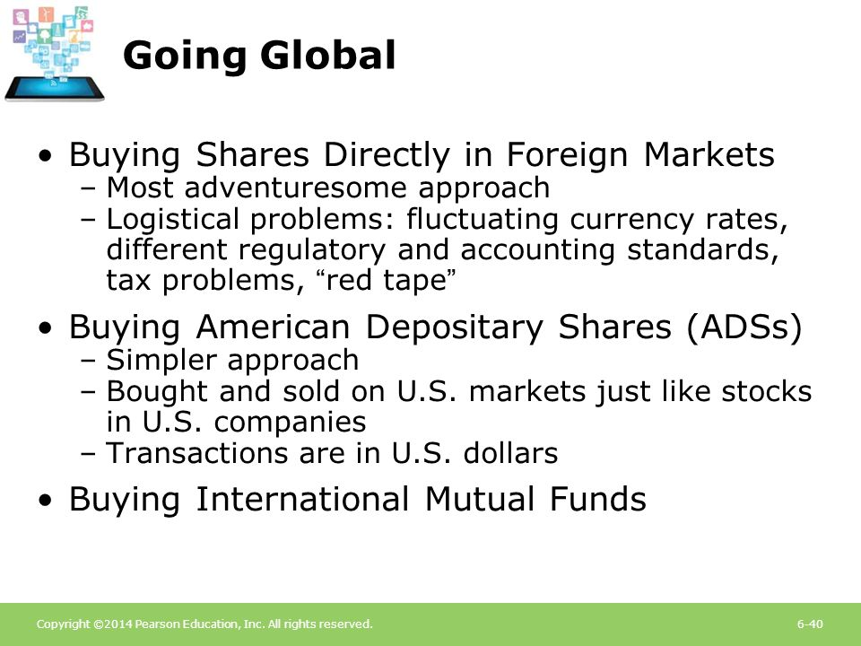 Going Global Buying Shares Directly in Foreign Markets