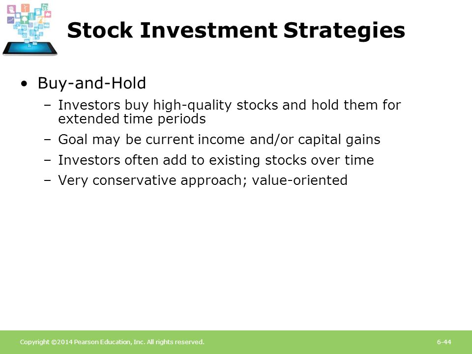 Stock Investment Strategies
