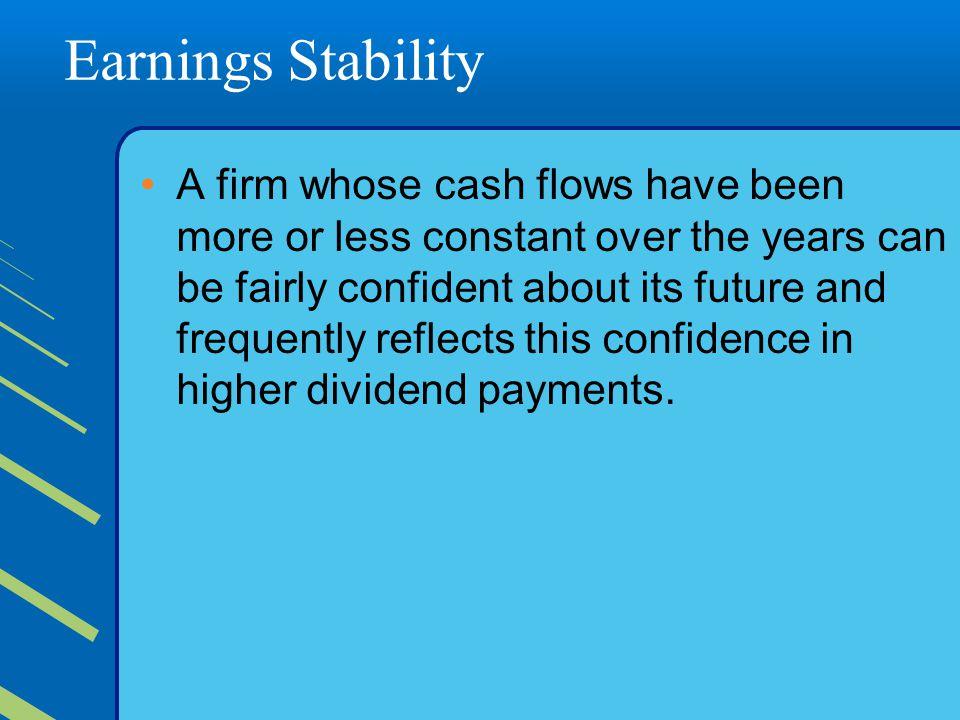 Earnings Stability