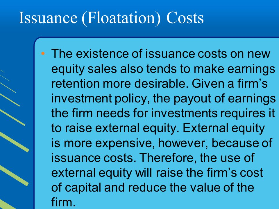 Issuance (Floatation) Costs