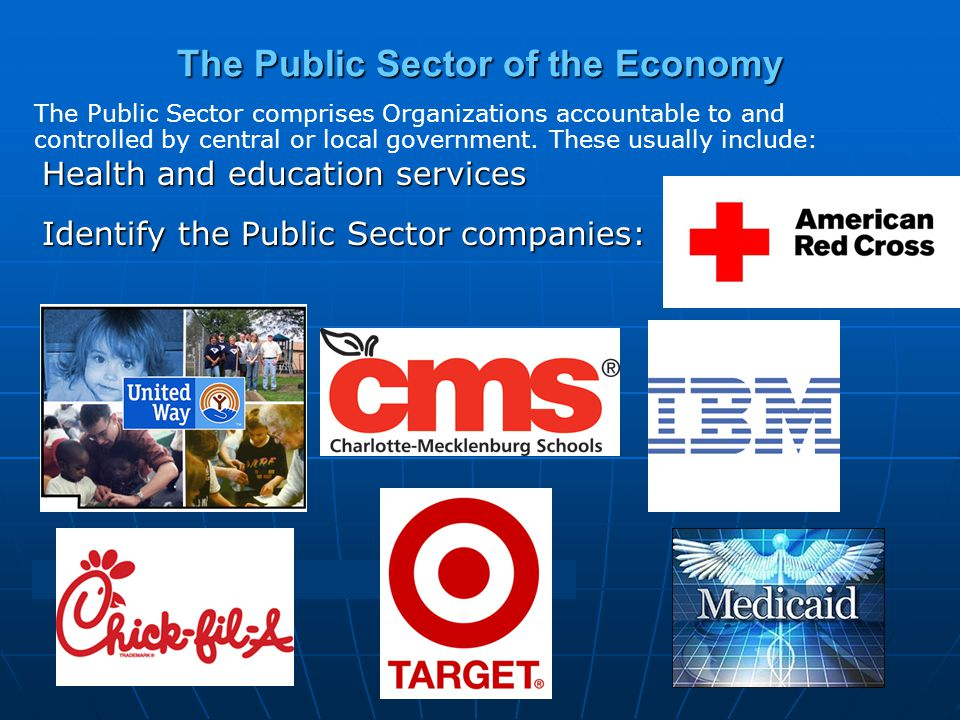 The Public Sector of the Economy