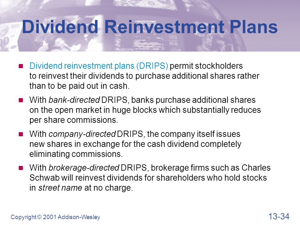 Advantages of DRIPS For Stockholders For Companies