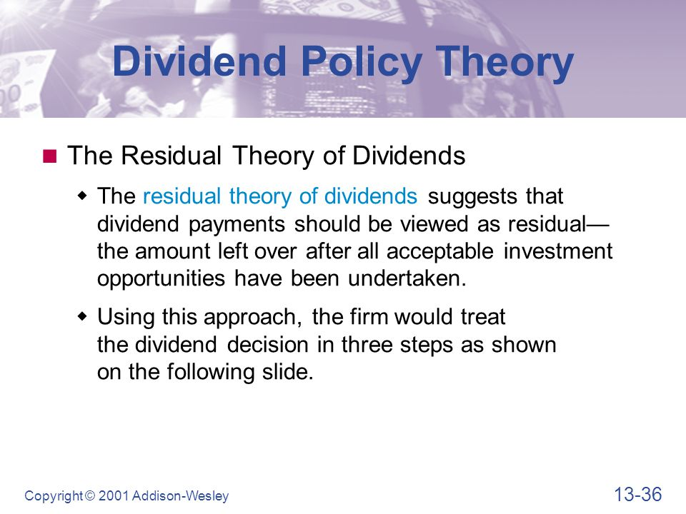 dividend policy microsoft On december 2, 2004, microsoft paid a special dividend of $300 per share to shareholders of record as of november 17, 2004 the total dividend.