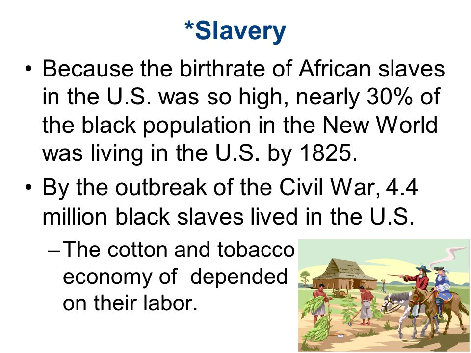 *Slavery