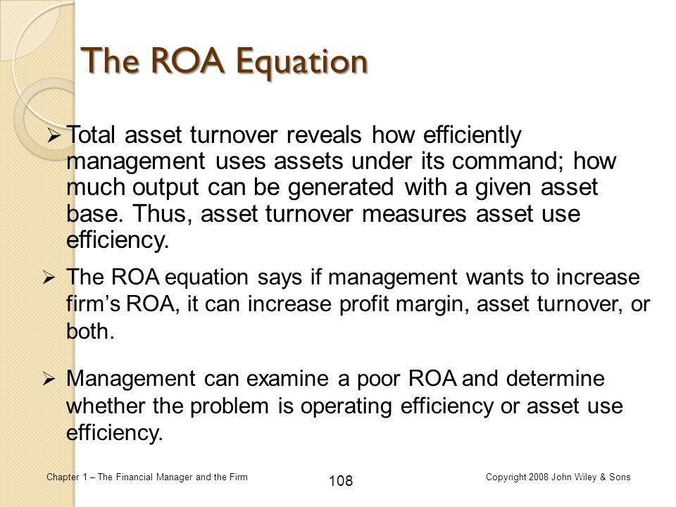 The ROA Equation