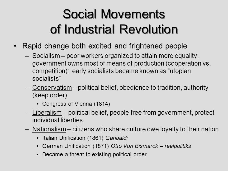 Social Movements of Industrial Revolution