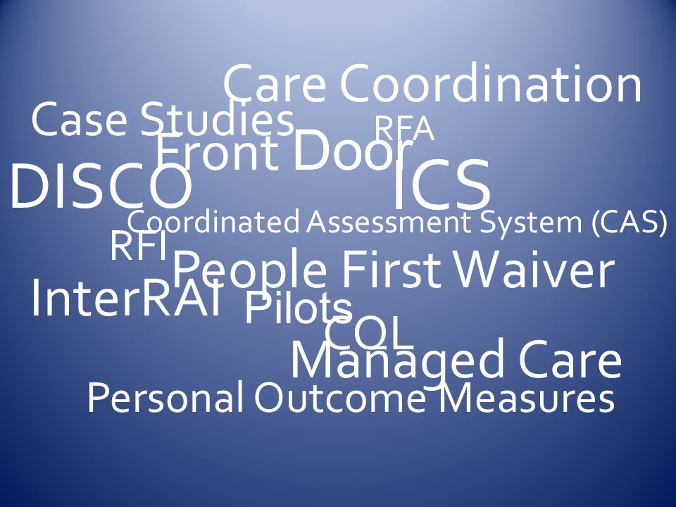 Coordinated Assessment System (CAS)