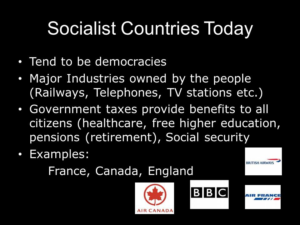 Socialist Countries Today