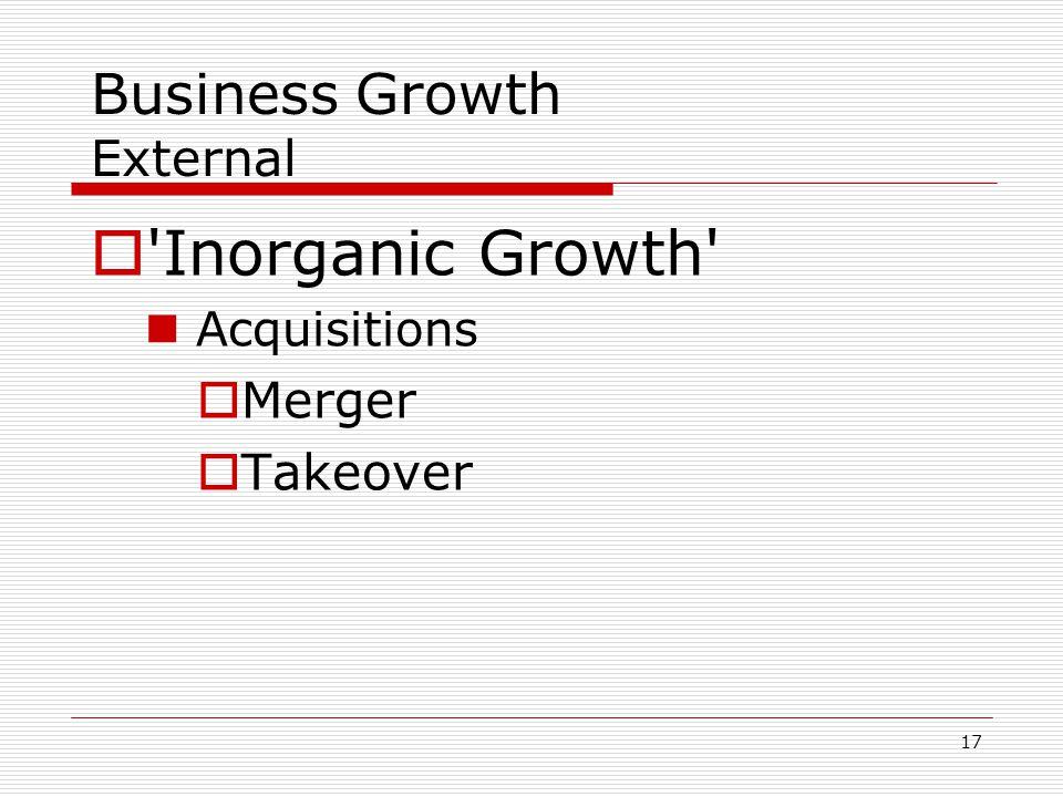 Business Growth External