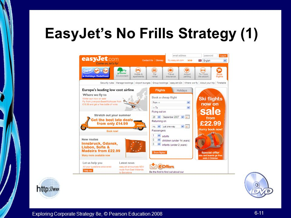EasyJet's No Frills Strategy (1)