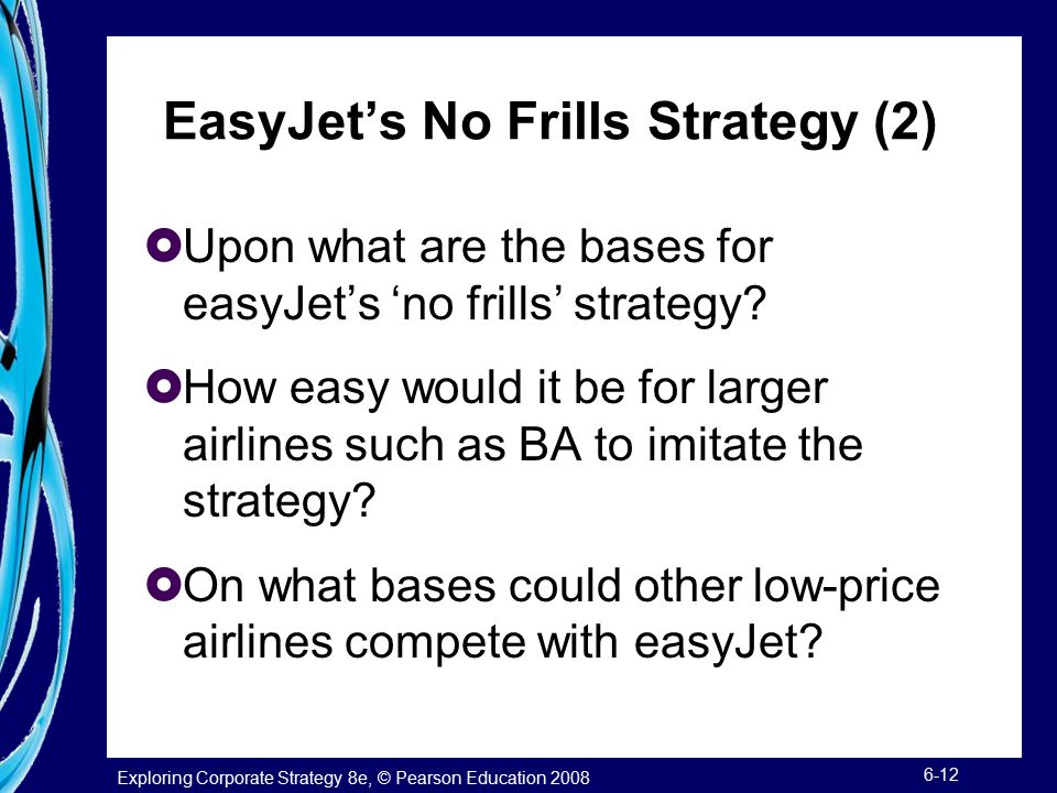 EasyJet's No Frills Strategy (2)