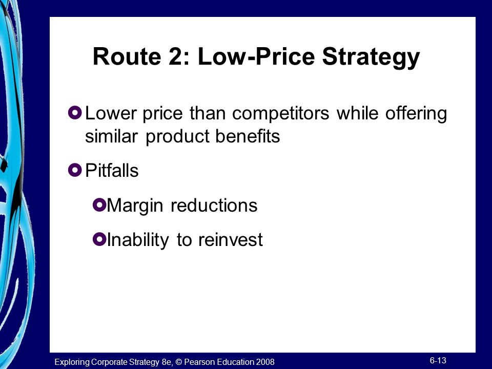 Route 2: Low-Price Strategy