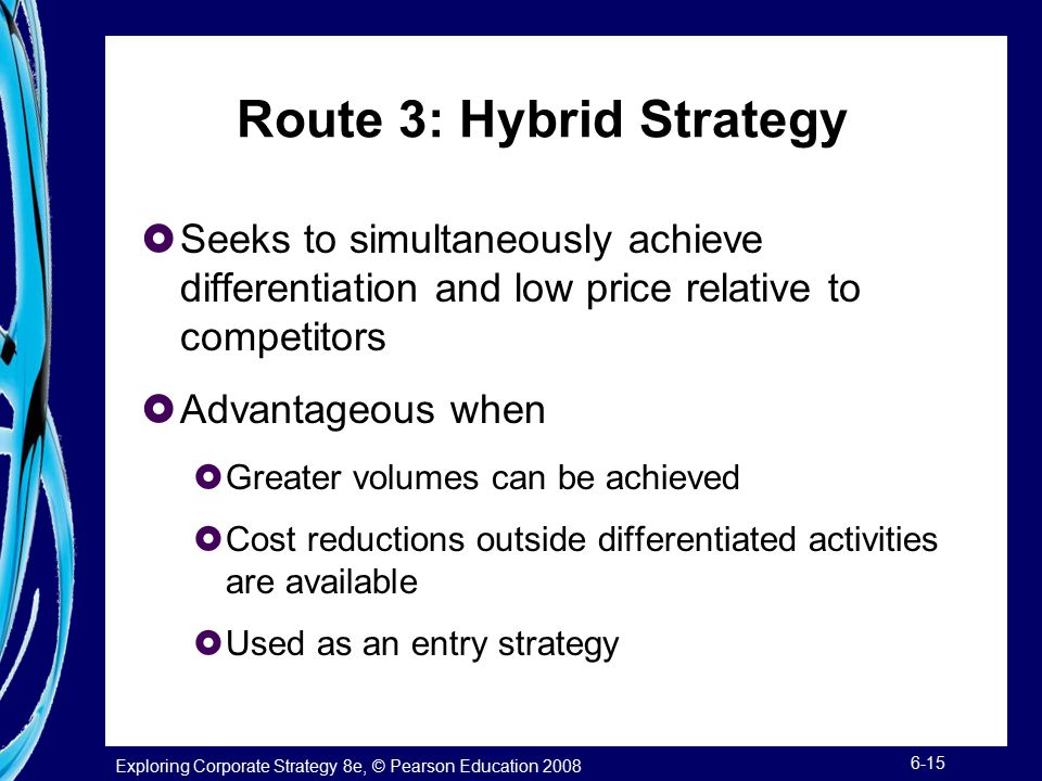 Route 3: Hybrid Strategy