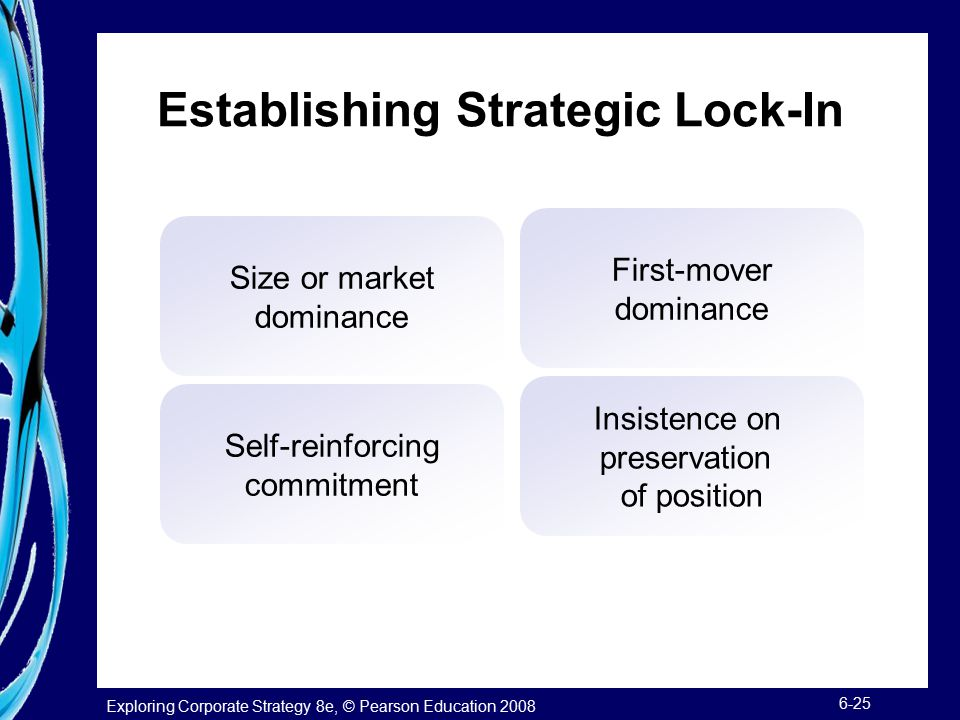 Establishing Strategic Lock-In