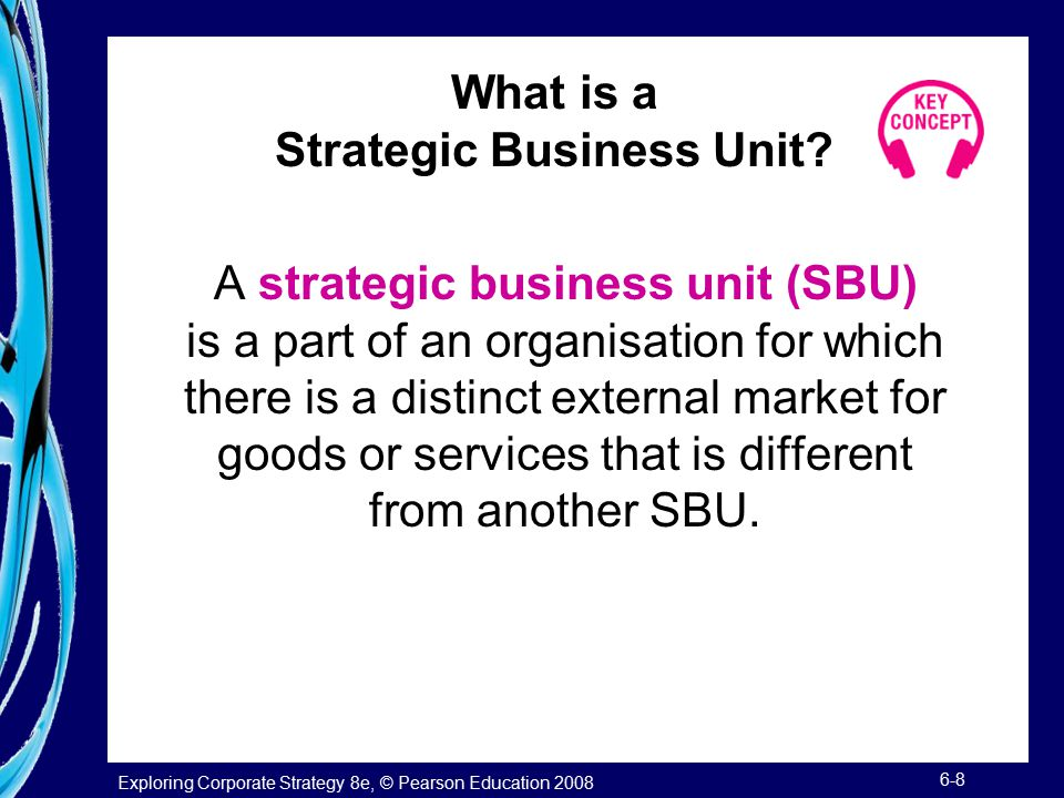 What is a Strategic Business Unit