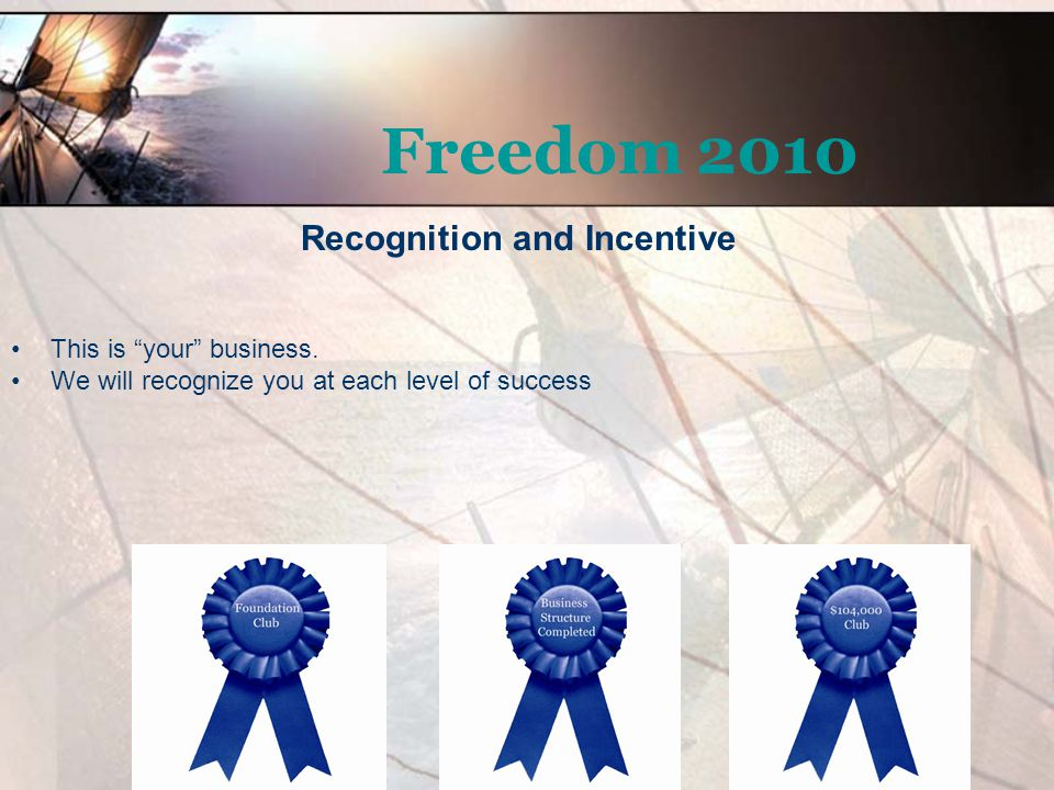 Recognition and Incentive