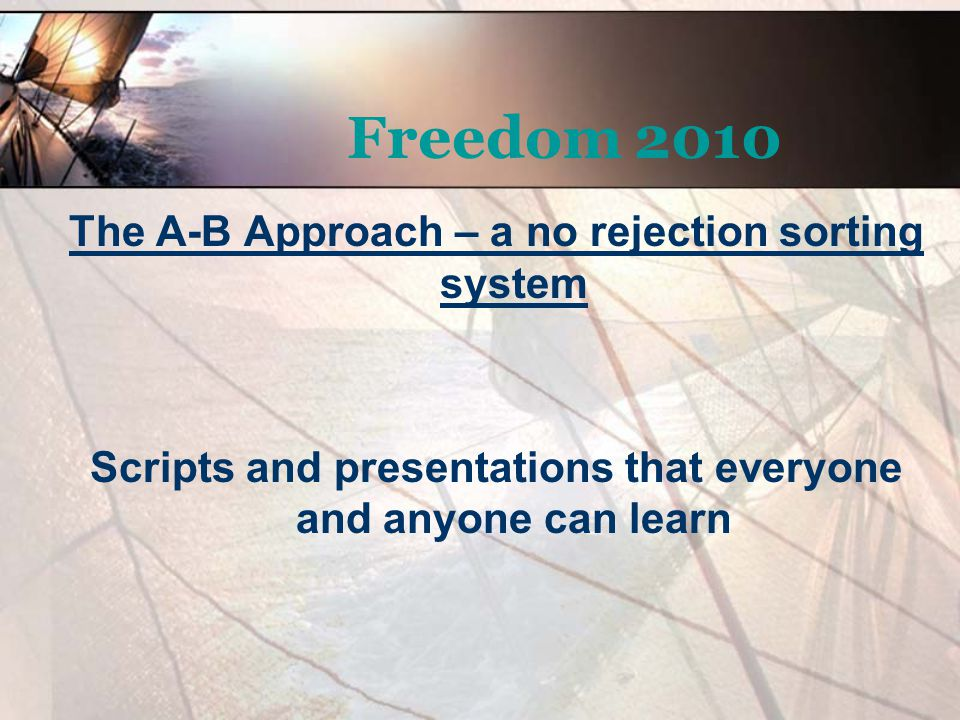 Scripts and presentations that everyone and anyone can learn