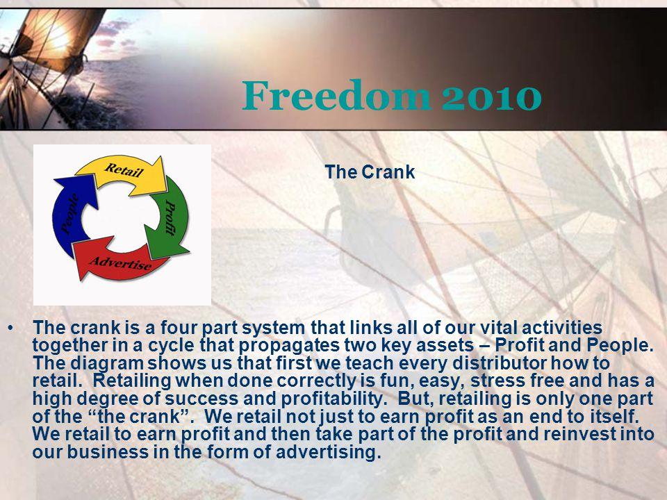 Freedom 2010 The Crank.