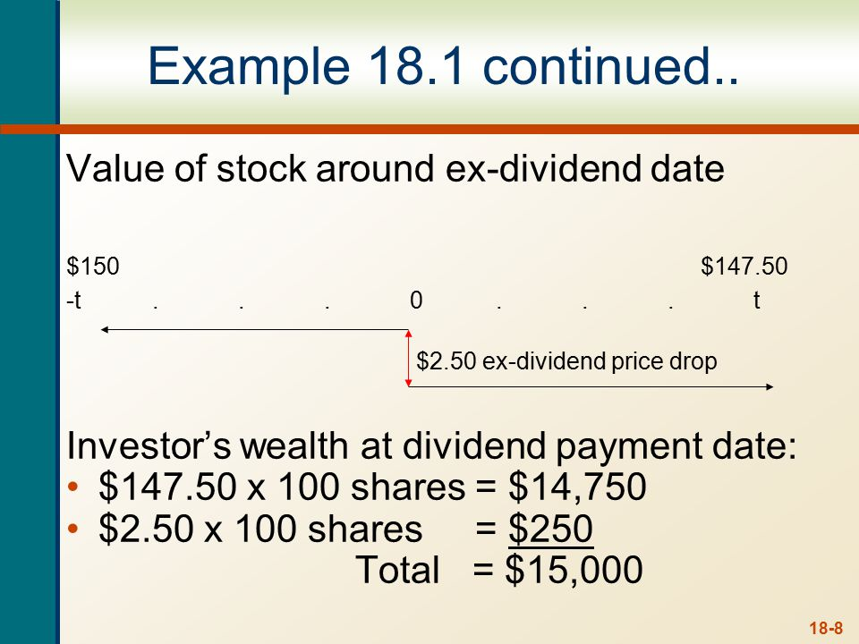 Does Dividends and Dividend Policy Matter