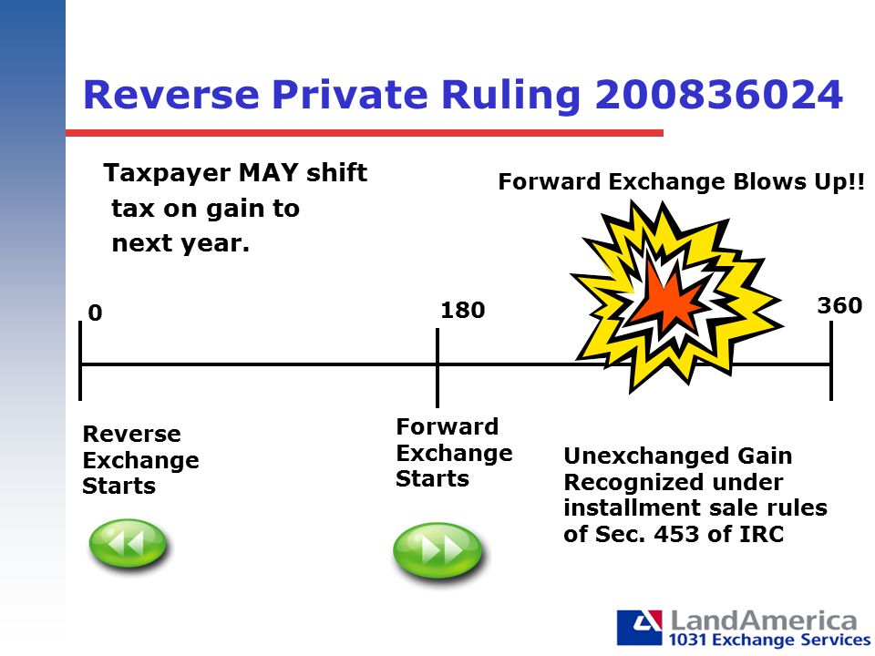 Reverse Private Ruling 200836024