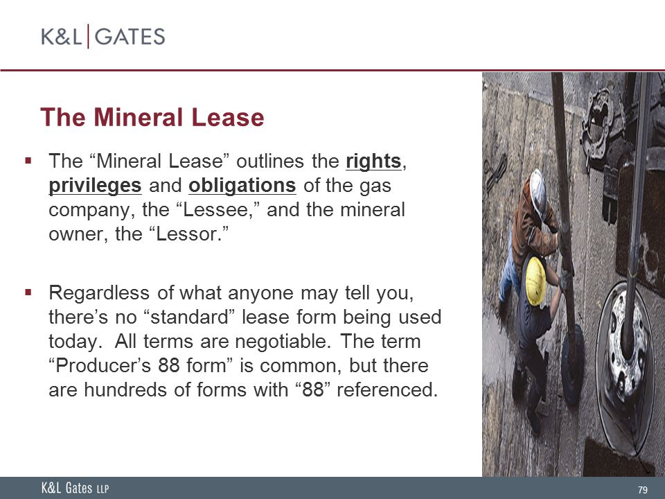 The Mineral Lease