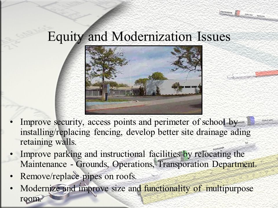 Equity and Modernization Issues